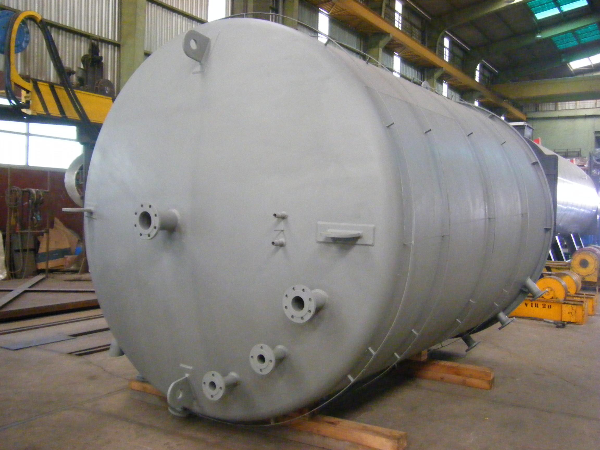 deposito nodriza de agua calderas de vapor 2 Calderería López Hermanos, S.A. Valencia