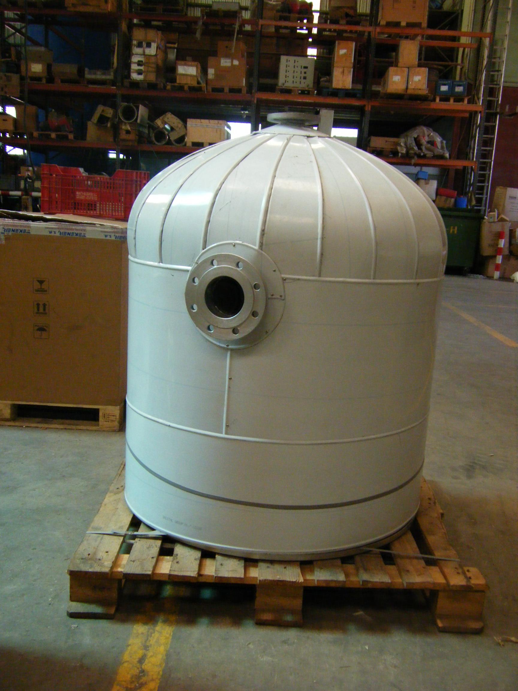 Calderas de vapor desgasificador DGV 9 Calderería López Hermanos, S.A. Valencia