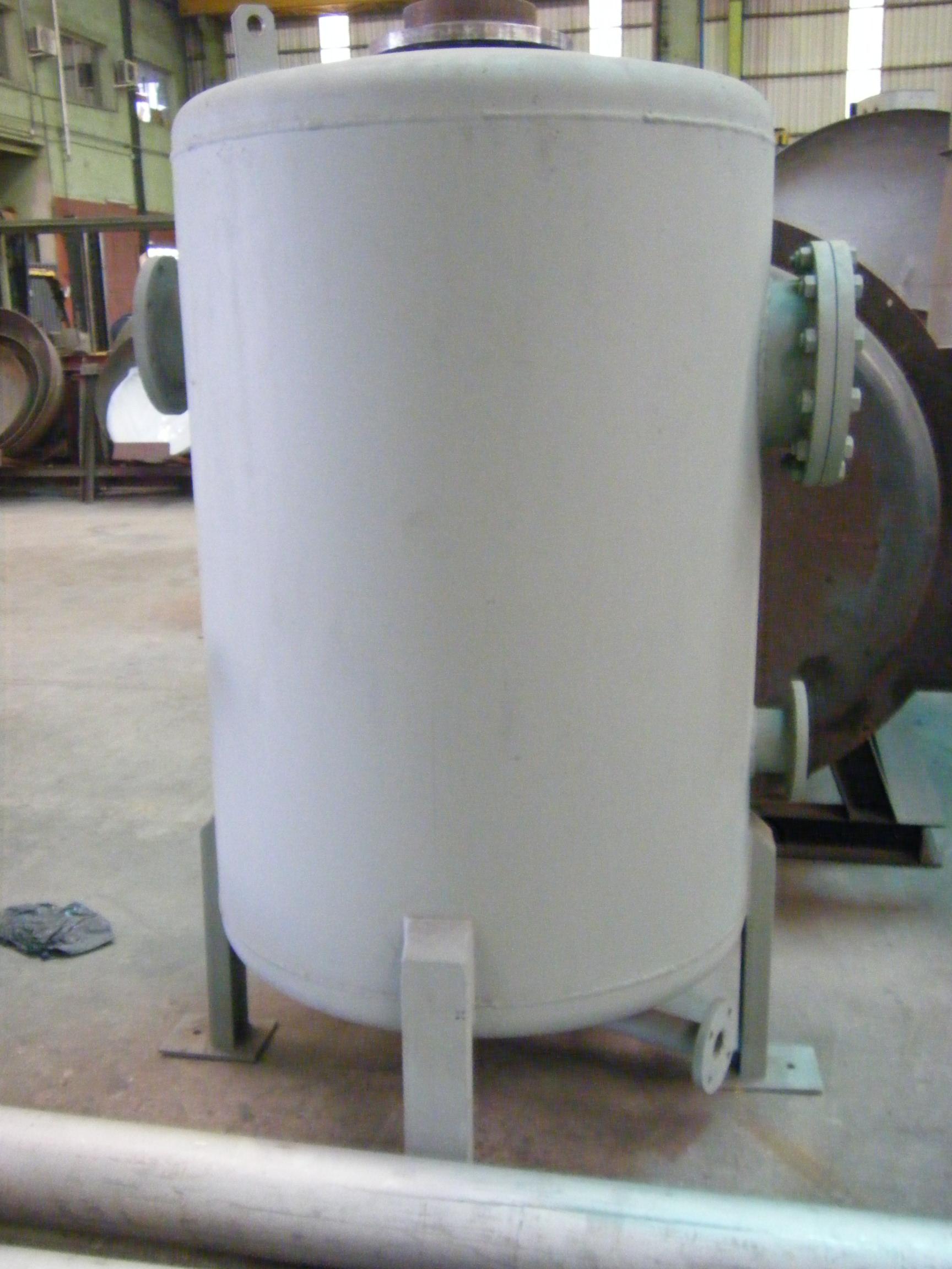 Deposito de purgas calderas de vapor 4 Calderería López Hermanos, S.A. Valencia
