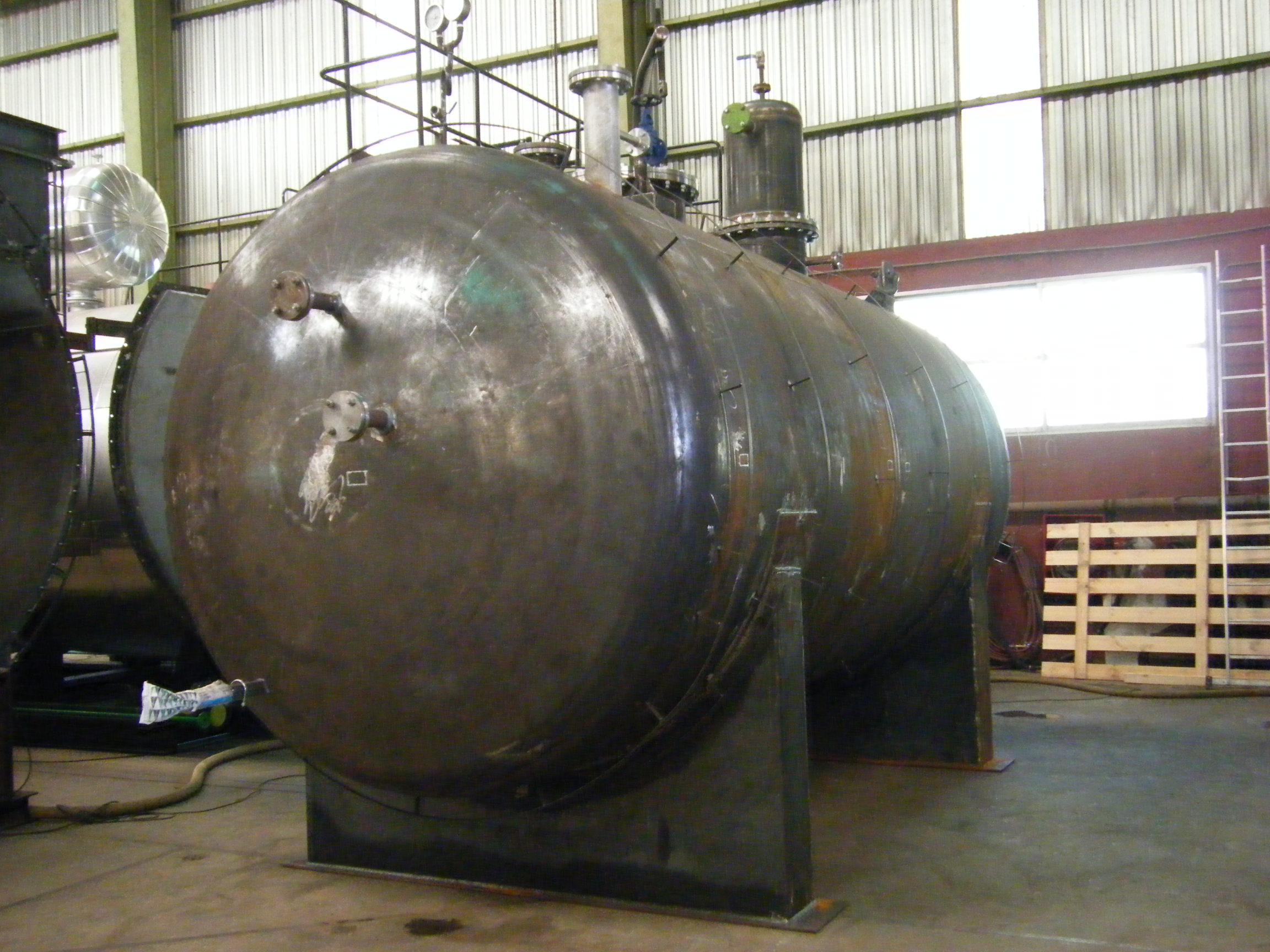 Calderas de vapor desgasificador DGV-20_02 Calderería López Hermanos, S.A. Valencia