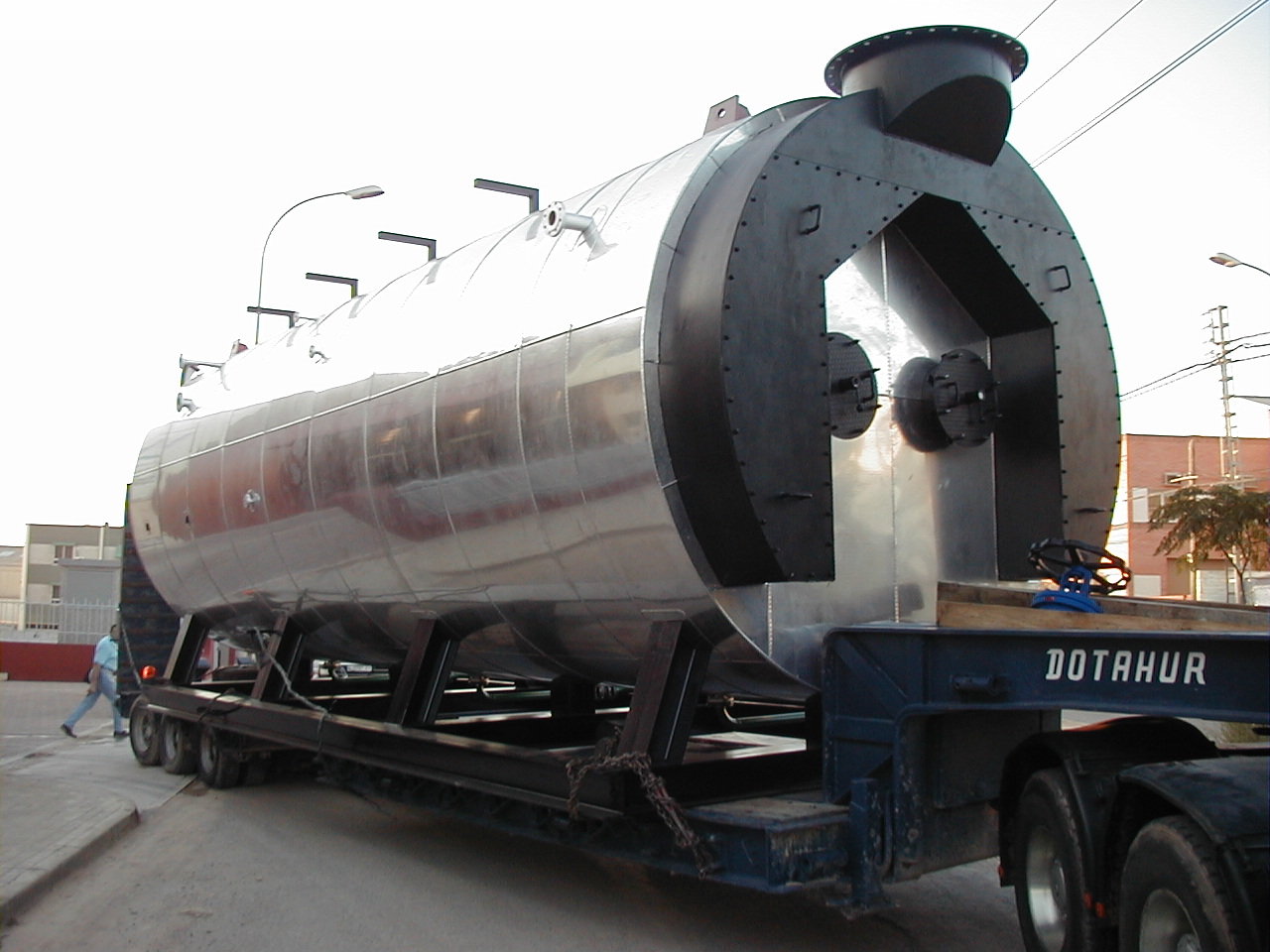 caldera de vapor pirotubular GVL-H