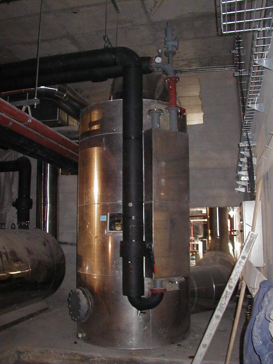 Caldera de Agua Caliente de Cogeneración CAG Calderería López Hermanos, S.A. Valencia