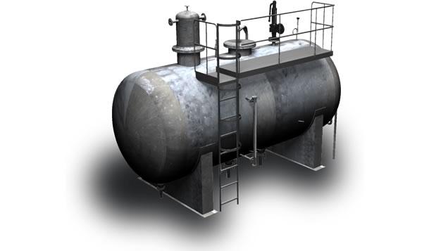 desgasificador calderas de vapor Calderería López Hermanos, S.A. Valencia