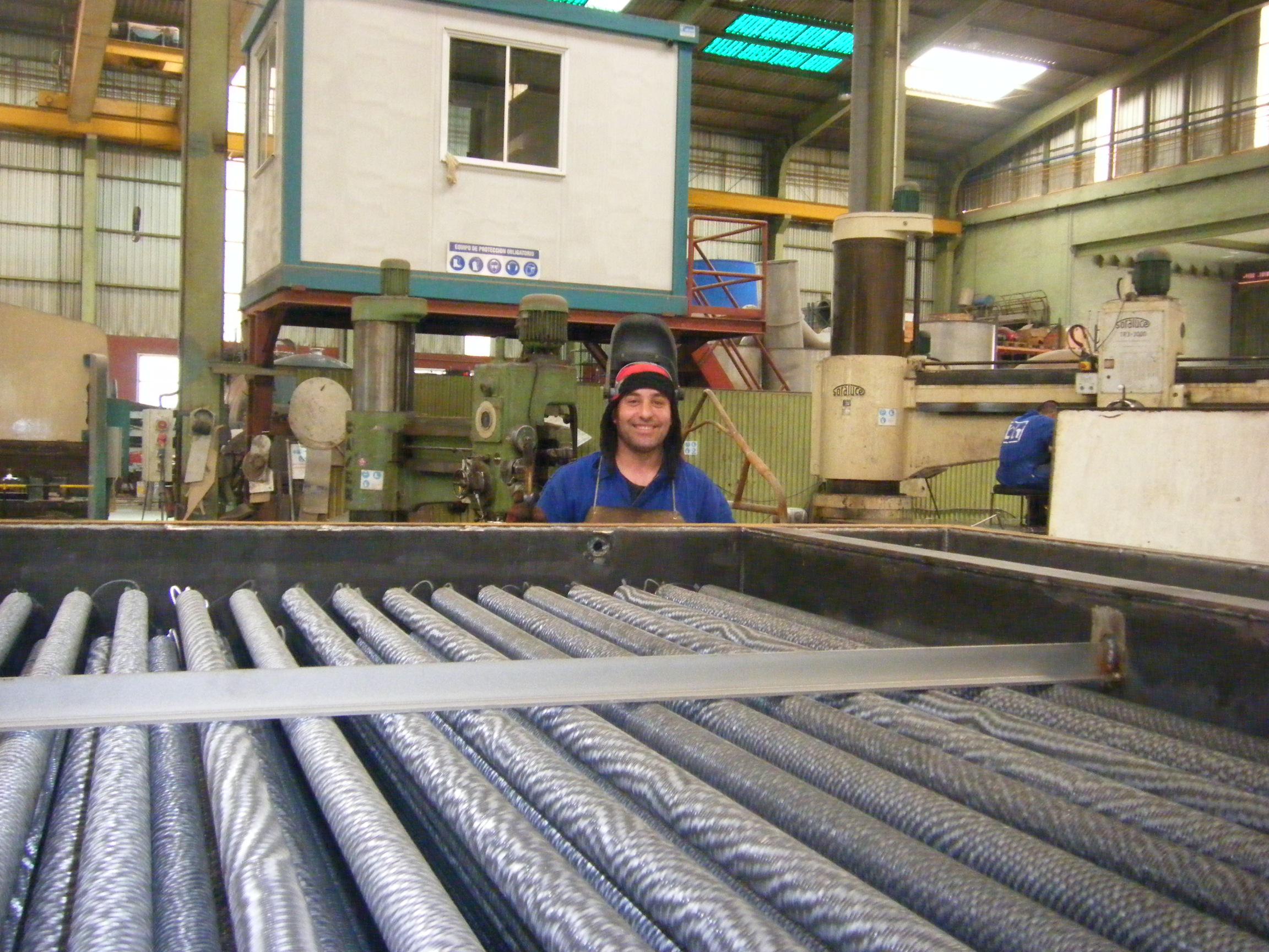 Economizador ECO calderas de vapor Calderería López Hermanos, S.A. Valencia