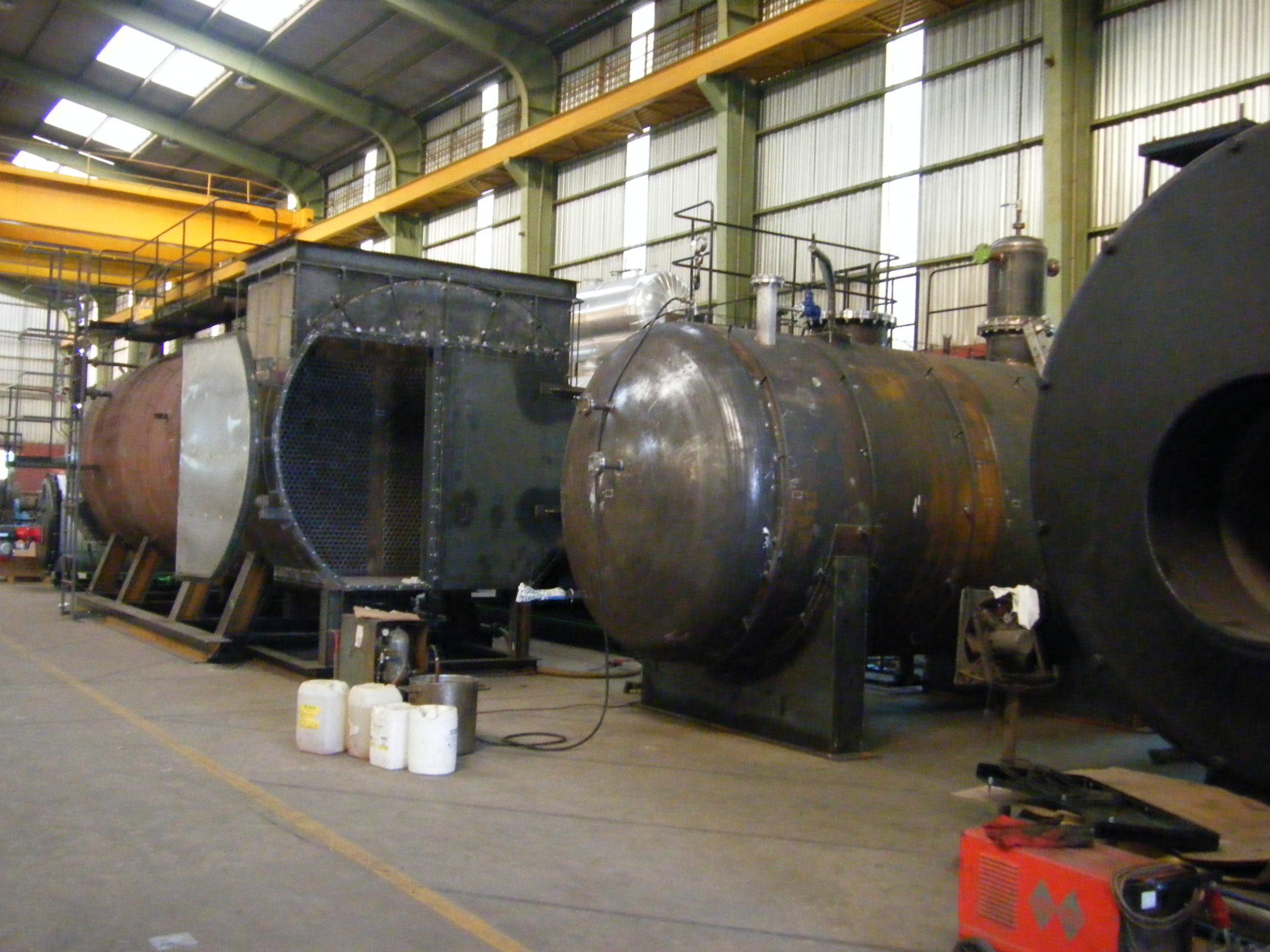 Calderas de vapor GVL-H y DGV Calderería López Hermanos, S.A. Valencia
