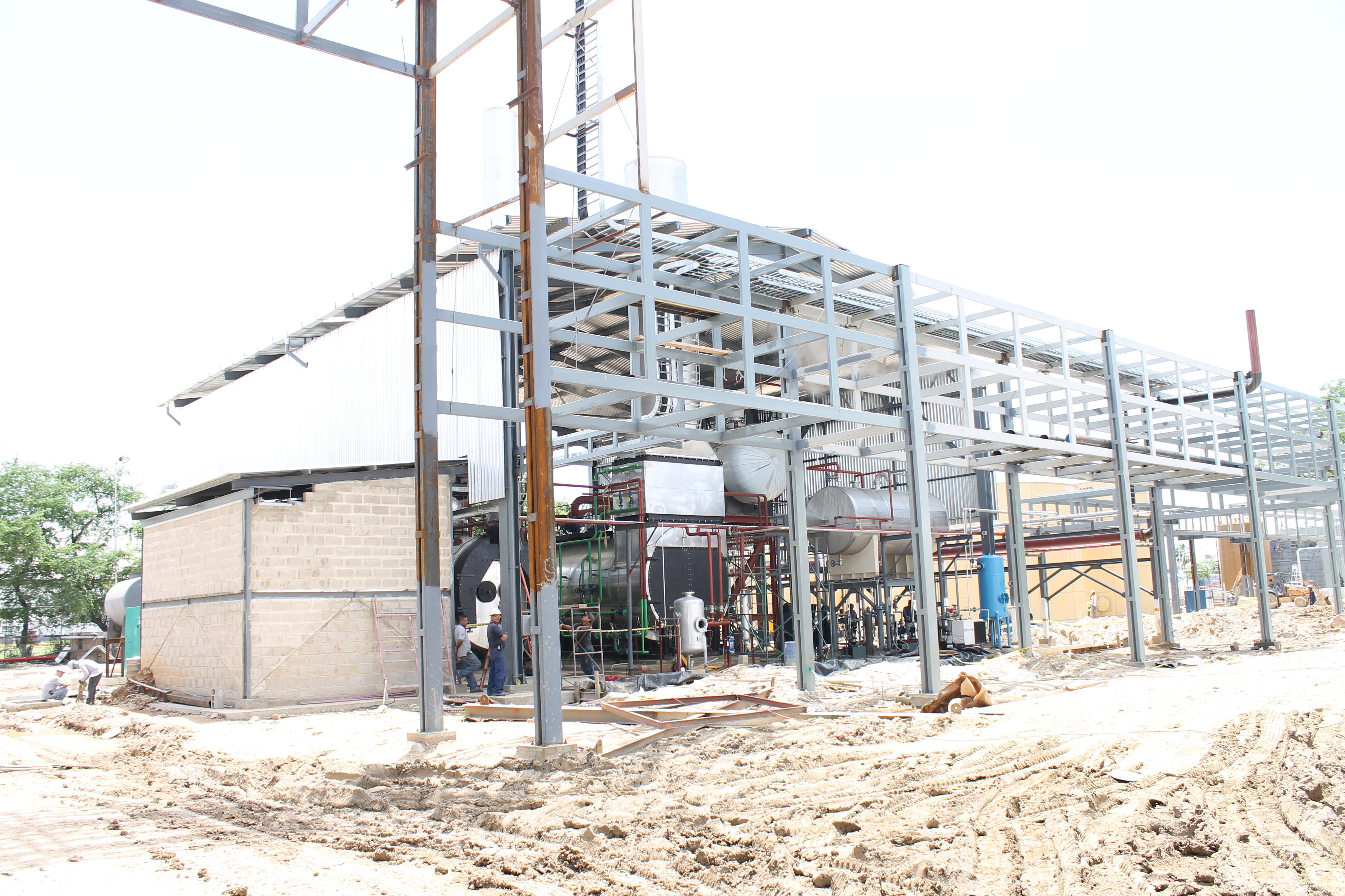 Instalaciones, Conducciones y Estructuras calderas de vapor Calderería López Hermanos, S.A. Valencia