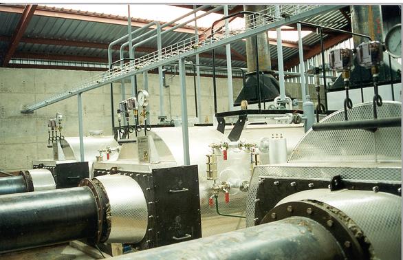 Caldera de Vapor de Cogeneración CRP Calderería López Hermanos, S.A. Valencia
